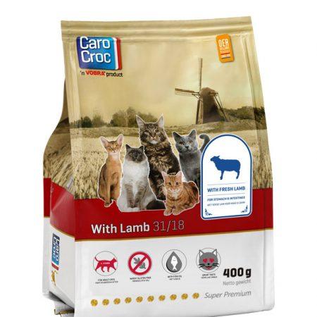 CaroCroc With Lamb 400 gram