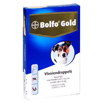 Bolfo Gold hond 100-4
