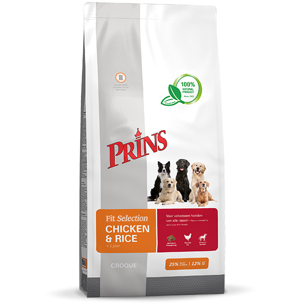 Fit Selection Dog Chicken & Rice - 15 kilo