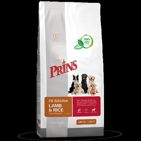 Fit Selection Dog Lamb & Rice - 15 kilo