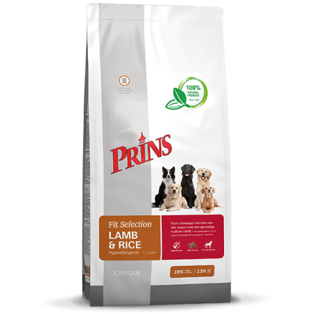 Fit Selection Dog Lamb & Rice - 2 kilo