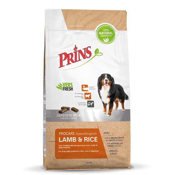 ProCare LAMB & RICE Hypoallergic -15 kilo